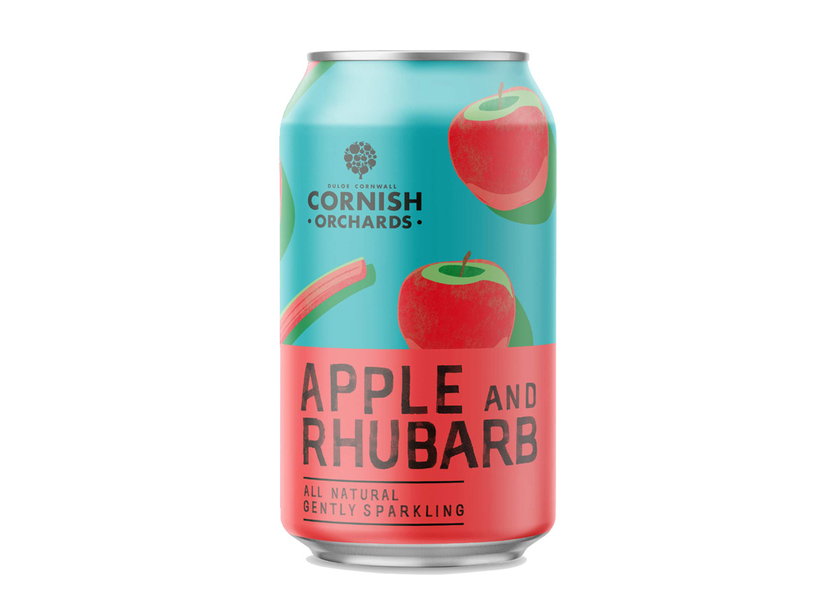 uk availability c5ca3 a84aa Cornish Orchards apple & rhubarb 330ml | Eden Project Shop
