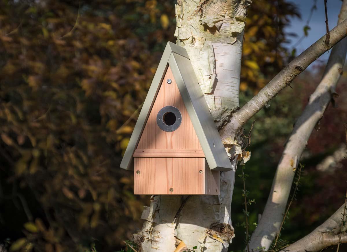 National Trust Wildlife World Stourhead Range Multi Species Bird Box