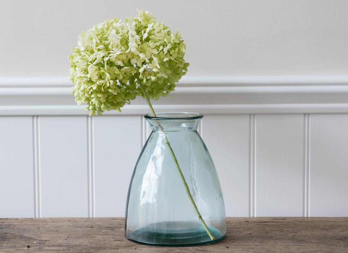 Eden Project & Wells recycled glass flower vase | Eden Project Shop