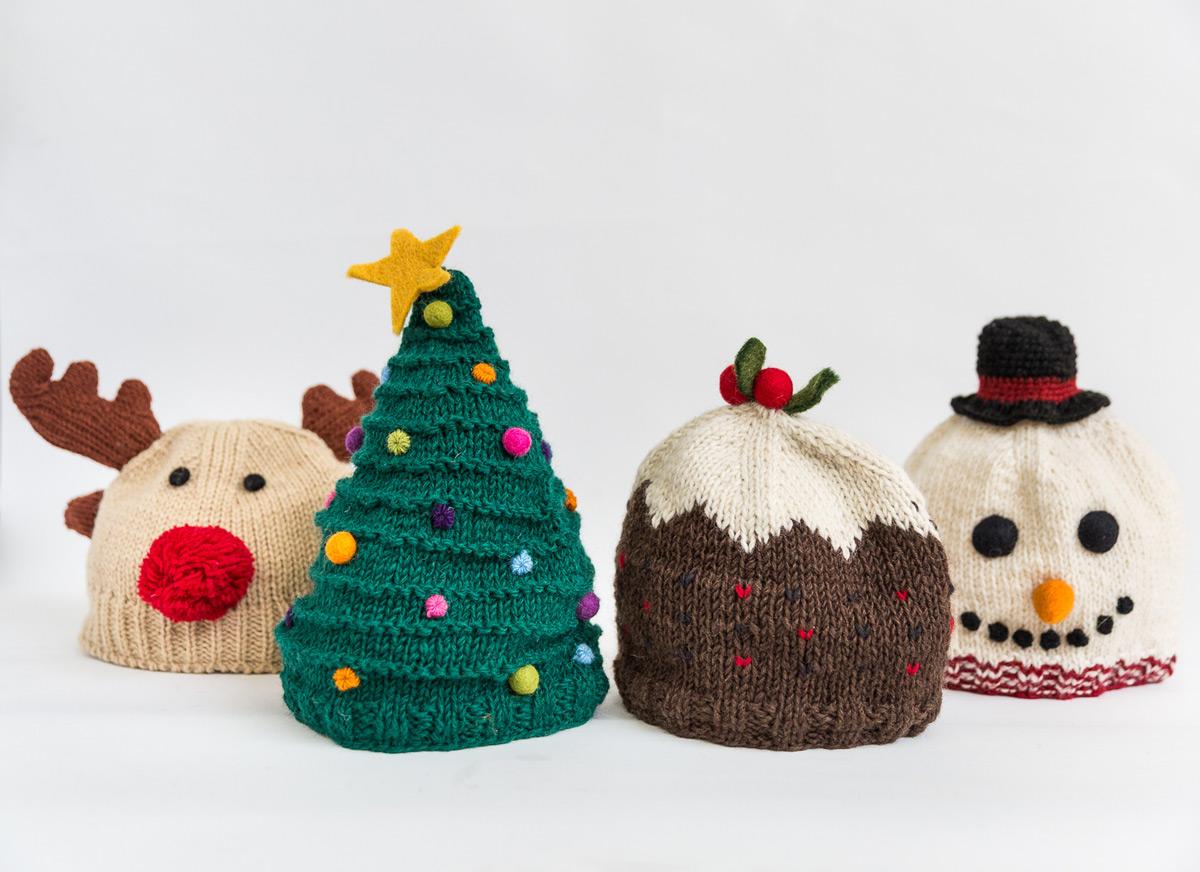 Woolly Christmas hats   Eden Project Shop