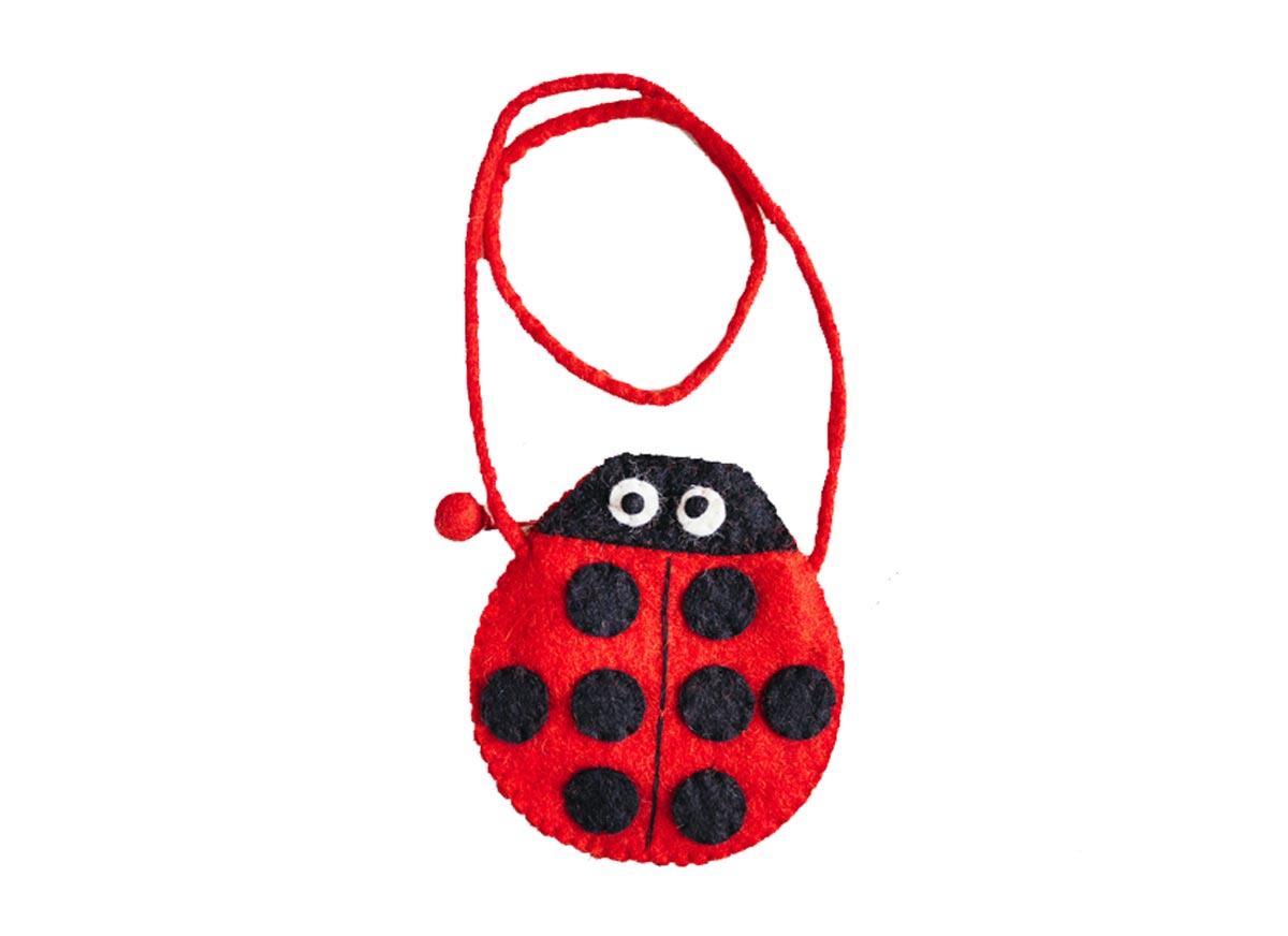 927d5a7cd11c Felt ladybird bag