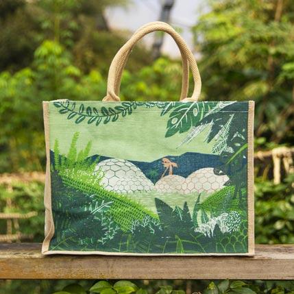 Eden Project design jute bag