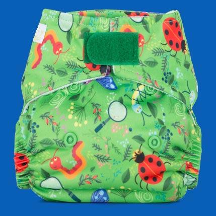 Reusable cloth nappy