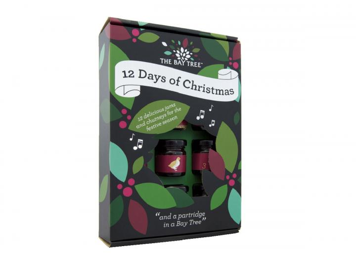 12 days of Christmas gift set from The Bay Tree