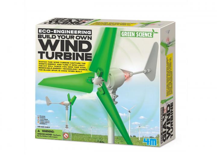 Build your own wind turbine kit