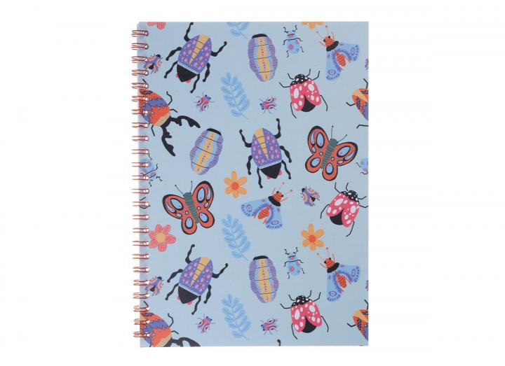 A5 notebook insects