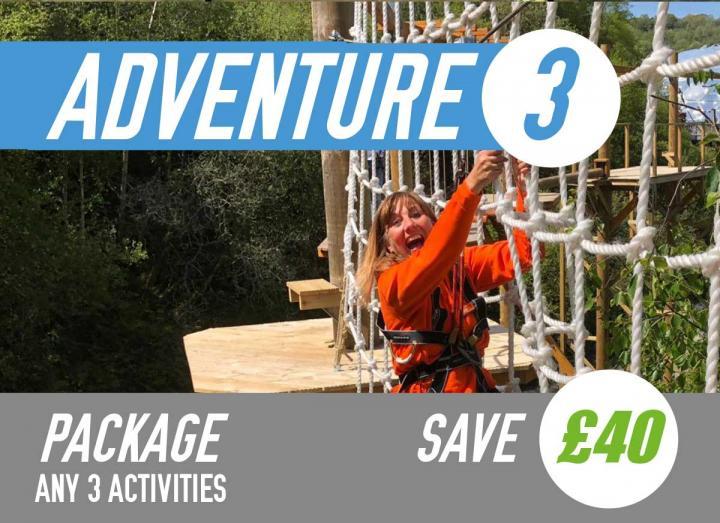 Adventure package at Hangloose