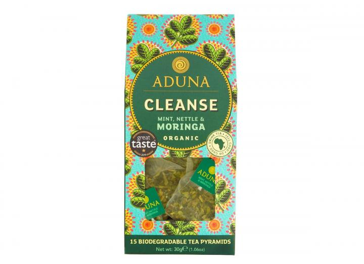Aduna cleanse mint, nettle & moringa tea 30g