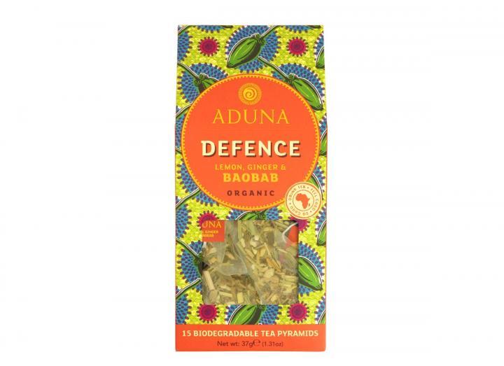 Aduna defence lemon, ginger & baobab tea 37g