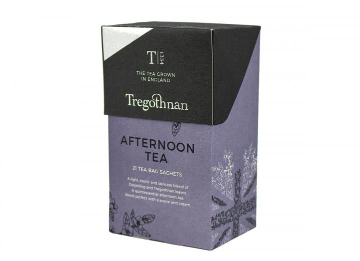 Tregothnan afternoon tea 21 tea bag sachet box
