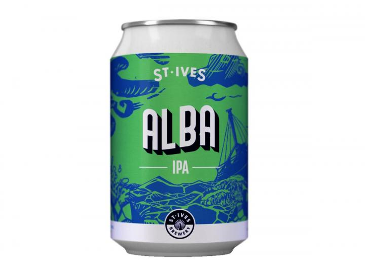 Alba IPA from St Ives Brewery in Cornwall