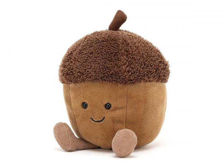 Amuseable acorn cuddly toy from Jellycat