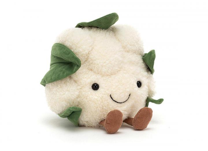 Amuseable cauliflower cuddly toy from Jellycat