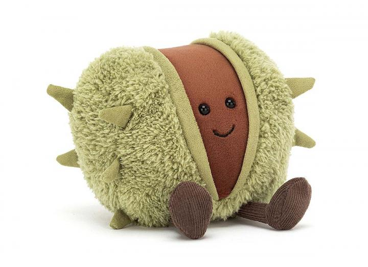 Amuseable conker cuddly toy from Jellycat