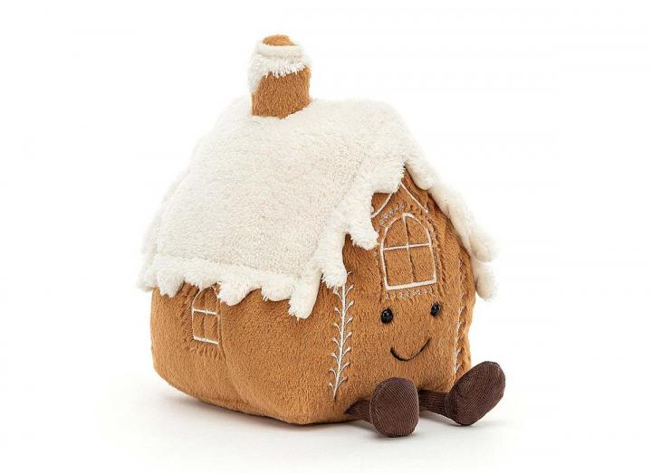 Amuseable gingerbread house from Jellycat