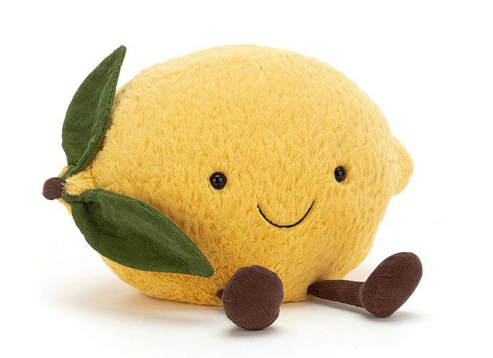 Amuseable Lemon cuddly toy from Jellycat