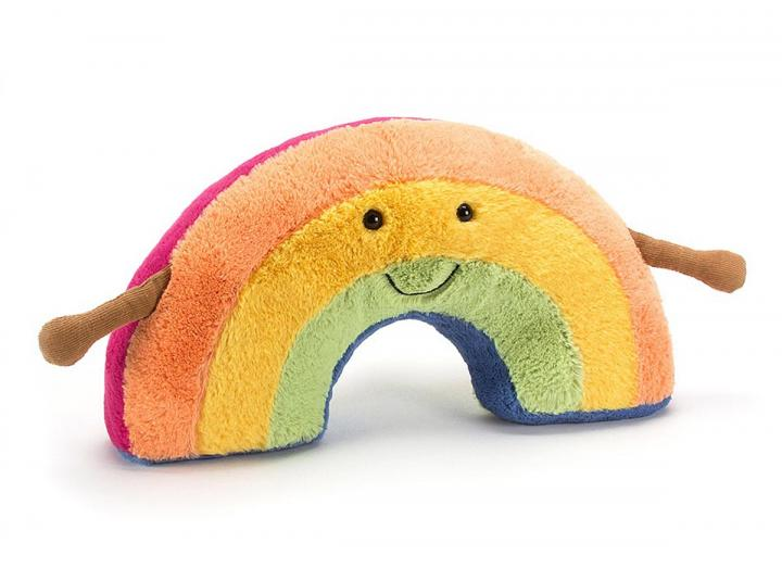 Amuseable Rainbow cuddly toy from Jellycat