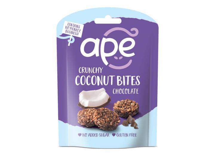 Ape coconut bites chocolate