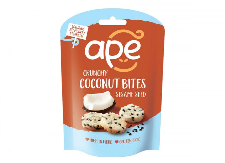 Ape crunchy coconut bites sesame