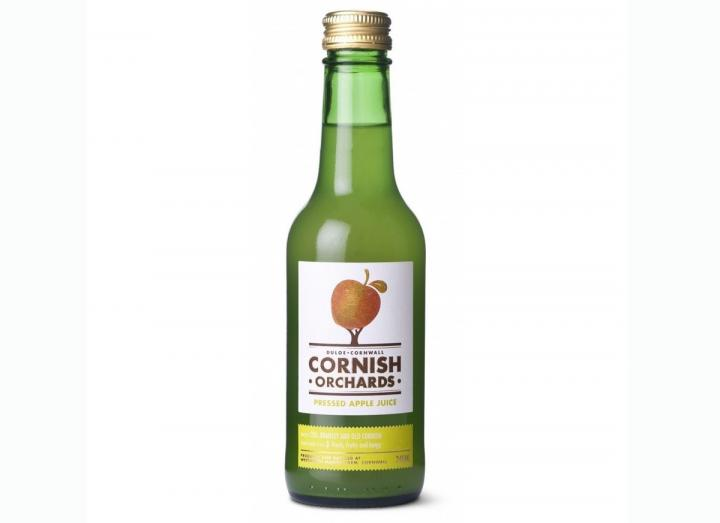 Cornish Orchards apple juice