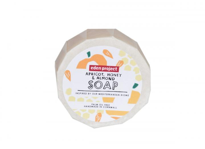 Apricot , honey and almond soap