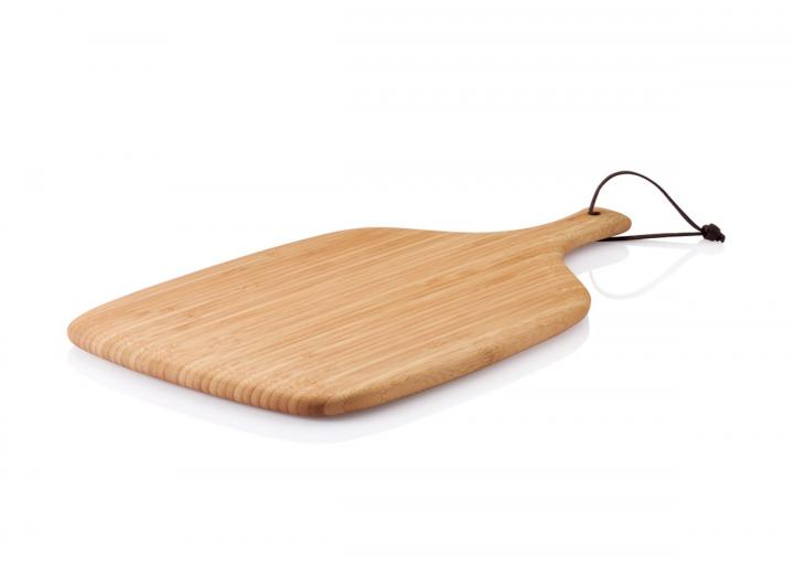 Artisan cutting & serving board made from bamboo and available in two sizes