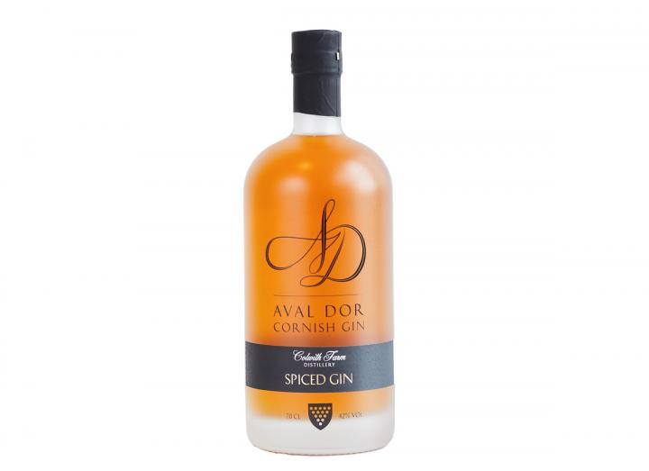 Aval Dor spiced gin from Colwith Farm Distillery in Cornwall