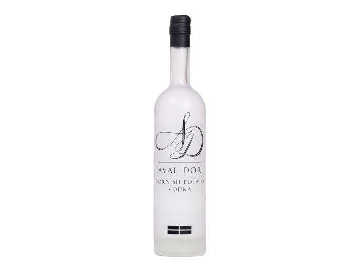 Aval Dor vanilla vodka, handmade in Cornwall by Colwith Farm Distillery