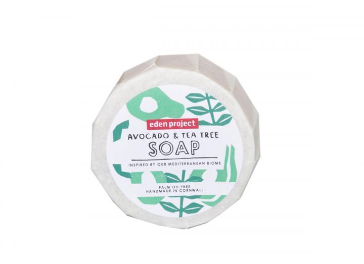 Avocado and tea tree soap