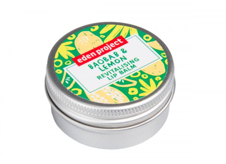 Baobab and lemon lip balm