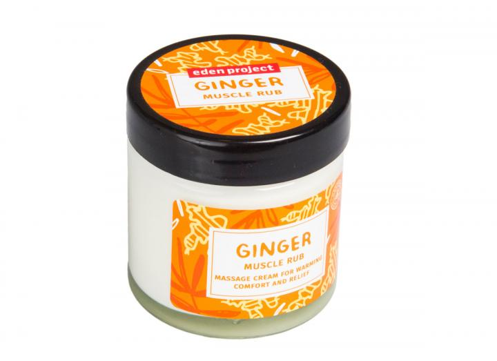 Ginger muscle rub