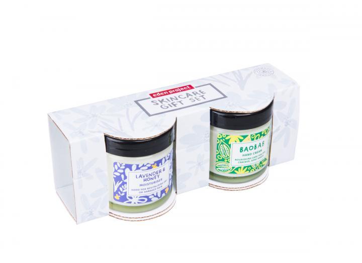 Lavender and baobab cream gift set