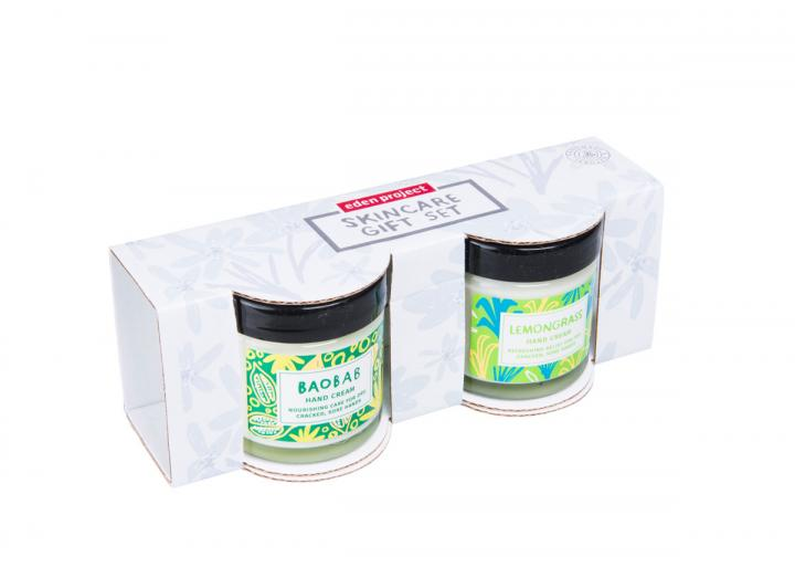 Lemongrass and Baobab hand cream gift set