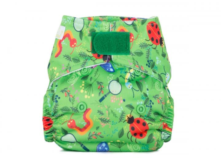 Reusable cloth nappy newborn nature detectives