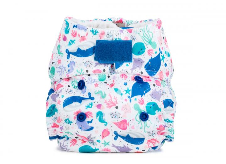 Reusable cloth nappy newborn ocean