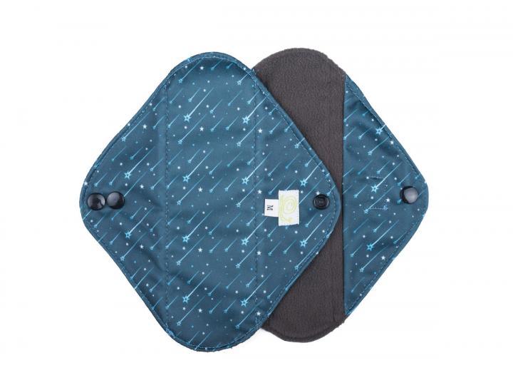 Reusable sanitary pads shooting stars medium