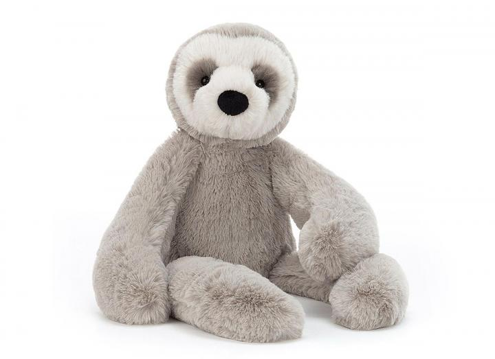 Bailey sloth cuddly toy from Jellycat