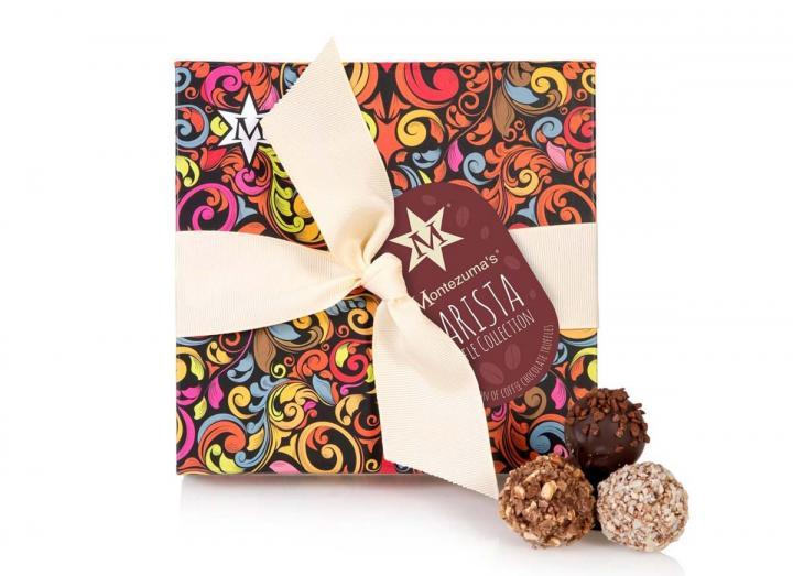 Montezuma's barista coffee truffle collection