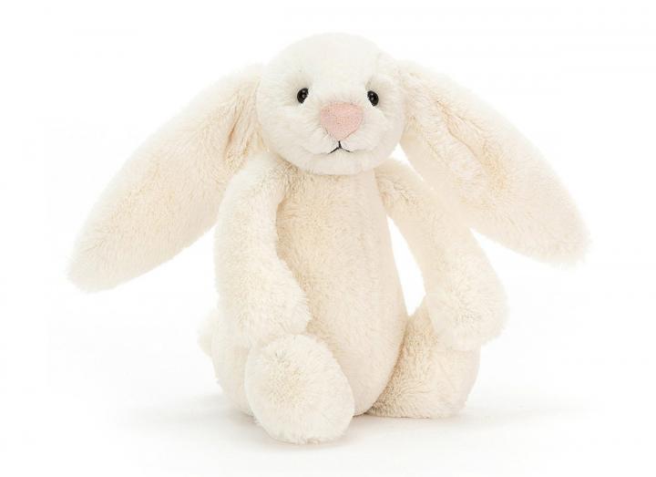 Bashful cream bunny cuddly toy from Jellycat