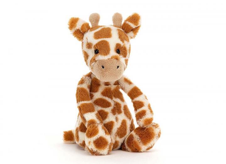 Bashful giraffe cuddly toy from Jellycat