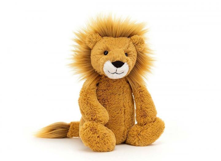 Bashful lion cuddly toy from Jellycat