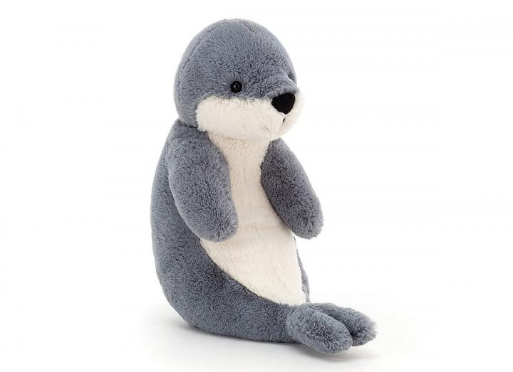 Bashful seal cuddly toy from Jellycat