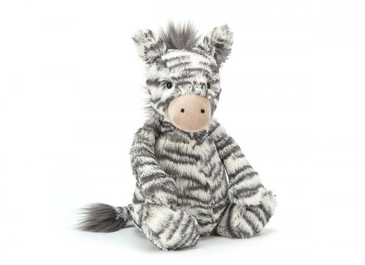 Bashful zebra cuddly toy from Jellycat
