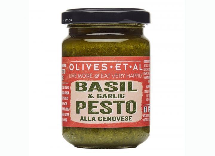 Basil & garlic pesto from Olives Et Al