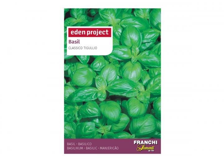 Basil Classico 'Tigullio' – Ocimum basilicum seeds