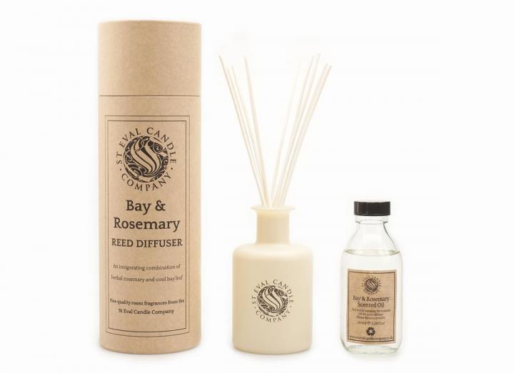 St Eval Candle Co. bay & rosemary reed diffuser