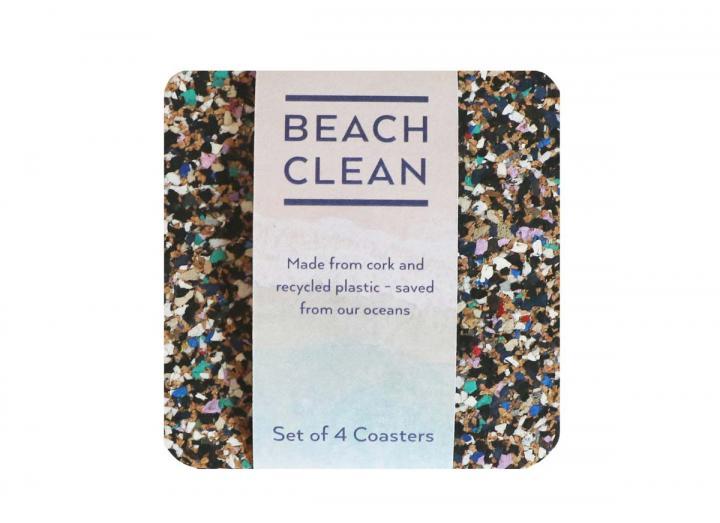 Beach clean coasters from Liga