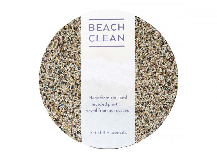 Beach clean placemats from Liga