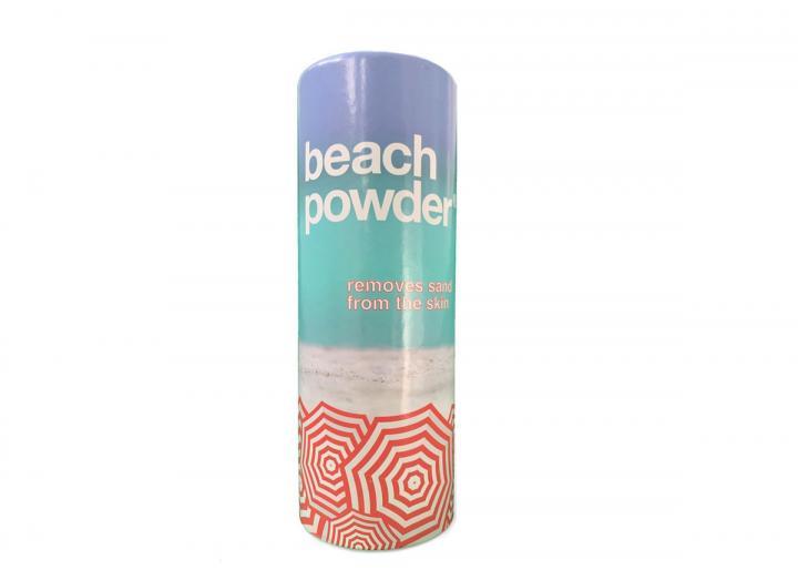 Beachpowder sand removing powder