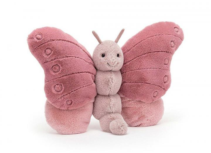 Beatrice butterfly cuddly toy from Jellycat